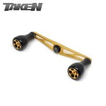 타켄 AZ110 핸들 골드/TAKEN AZ110 HANDLE GOLD 110mm